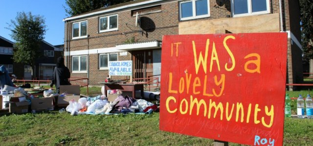 Speaking Back To Stigma: social housing and solidarity in East London