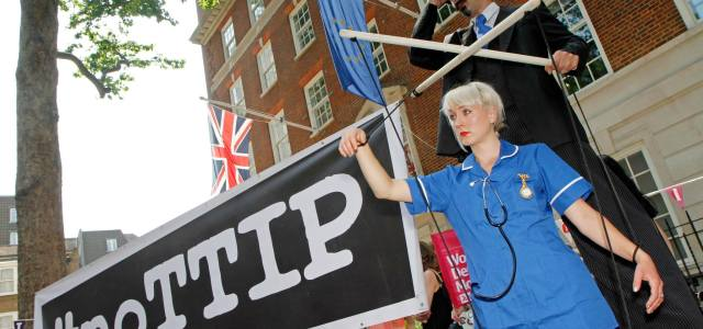 Viewpoint: An Old Story of Profit, Power and People – Why We Should Fight TTIP