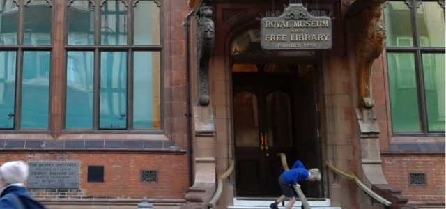 A contested public space – the case of the public library