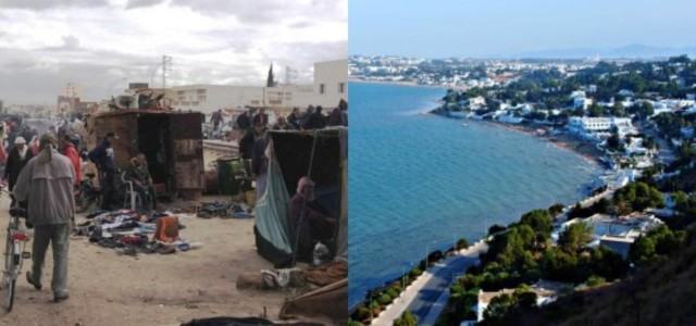 The Tunisian uprising and beyond: a tale of two countries