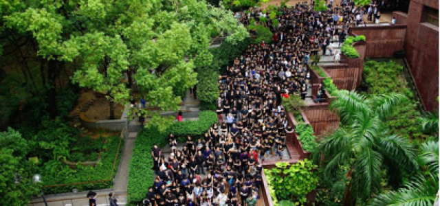 Hong Kong's Umbrella Movement one year on: The University of Hong Kong as the new battleground