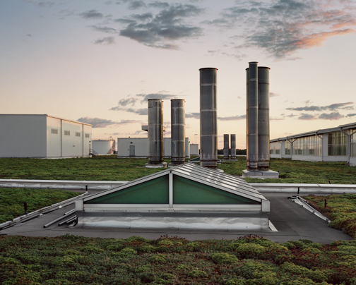 The Rouge (looking Southwest) Dearborn MI, August 2011