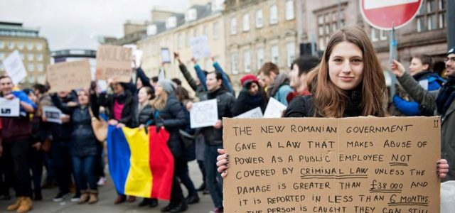 The Democratic Faces of Romania's Caring Resistance against Corruption