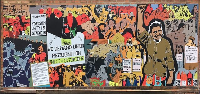 Reclaiming histories and spaces with the Grunwick Strike mural