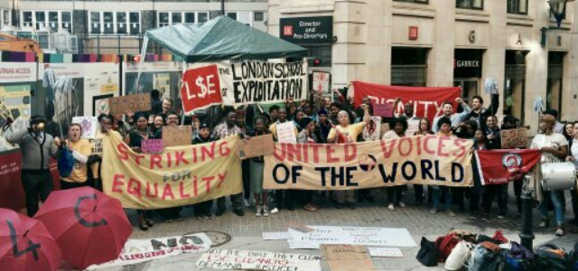 ON THE FRONTLINE: Confronting Precariousness, Outsourcing and Exploitation – Lessons from the LSE Cleaners