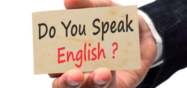 English language and integration