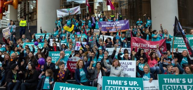 Childcare strikes on the rise: Love doesn't pay the bills