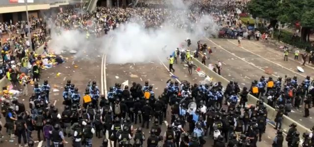 ON THE FRONTLINE: The Hong Kong protests – On being in and against the crowd