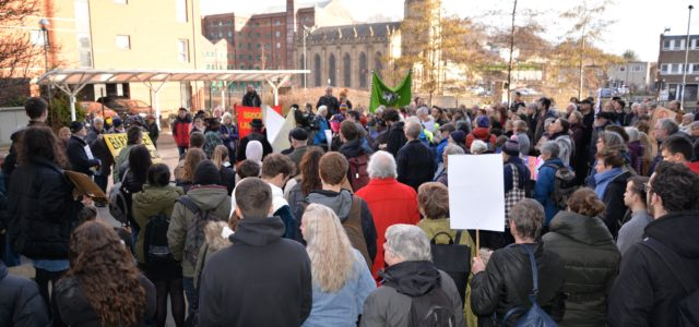 ON THE FRONTLINE: Voices of resistance in the asylum system: solidarity, research, and actions in Sheffield UK