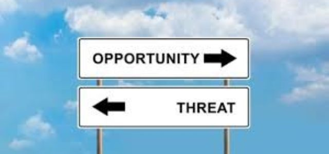 Covid-19: threats and opportunities