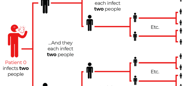 Exiting a pandemic – remember that R0 is social too
