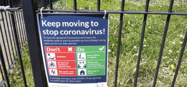 Parks in a pandemic: a glimpse into the future?