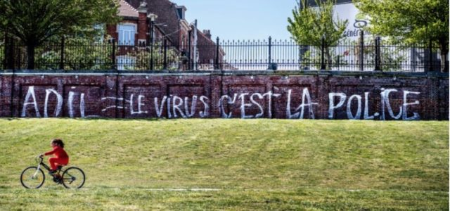 The virus is the police