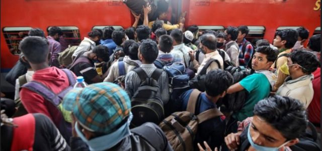 Temporary encounters, perpetual struggles: Covid19, train journeys and migrant labourers in India