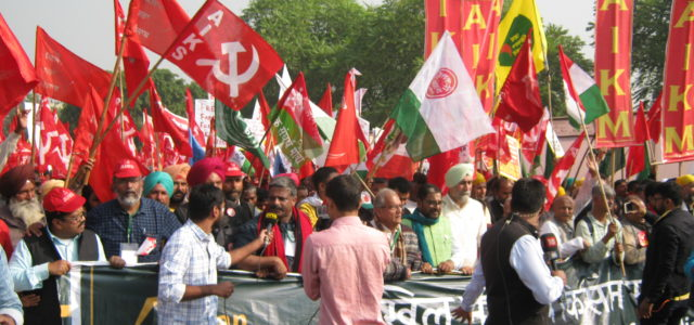 Farmers' protests in India as a counter hegemonic social force